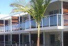 Almonds Glass balustrading 12