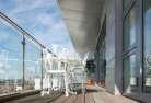 Almonds Glass balustrading 22